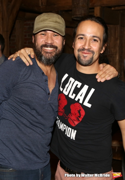 Michael Balderrama and Lin-Manuel Miranda Photo