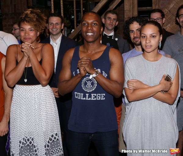 Ariana DeBose, Leslie Odom Jr. and Jasmine Cephas Jones