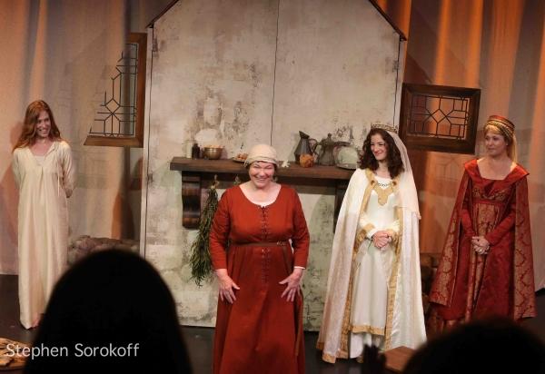 Anne Troup, Tina Packer, Bridget Saracino