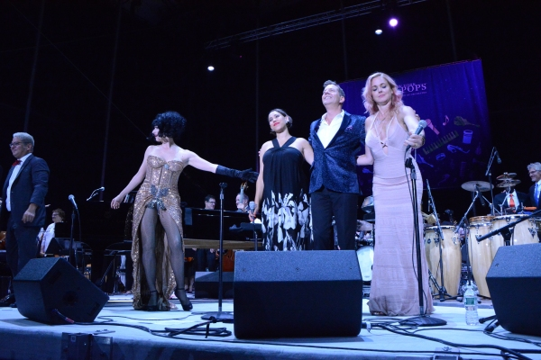 Thomas M. Lauderdale, Meow Meow, China Forbes, Steven Reineke and Storm Large Photo