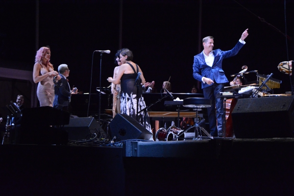 Storm Large, Meow Meow, China Forbes and Steven Reineke