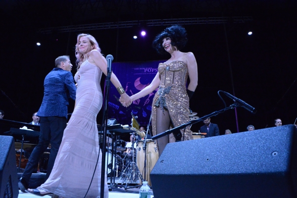 Storm Large and Meow Meow Photo