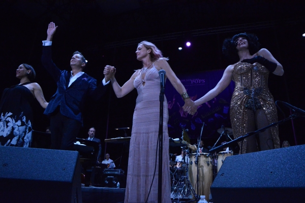 China Forbes, Steven Reineke, Storm Large and Meow Meow Photo