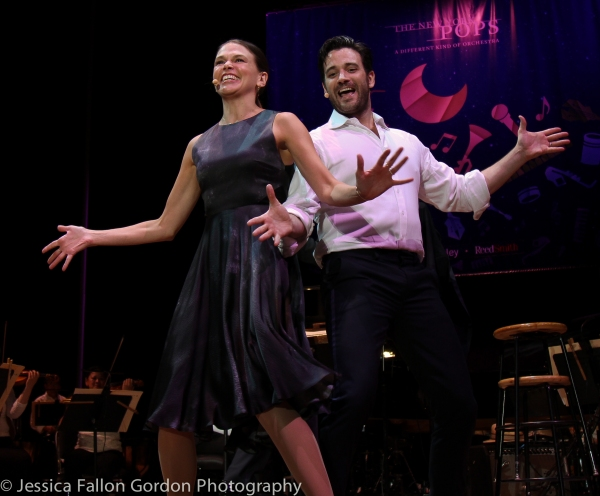 Sutton Foster and Colin Donnell