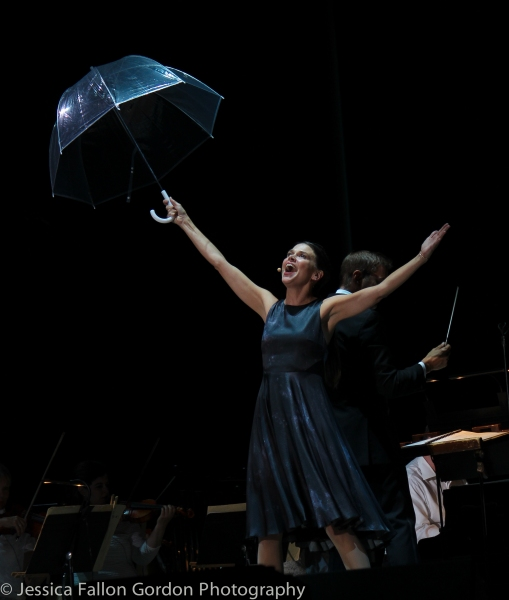 Photo Coverage:  Sutton Foster Enlists Friends Colin Donnell & Megan McGinnis for Her NY Pops Concert!