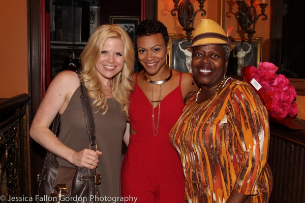 Megan Hilty, Carly Hughes and Lillias White