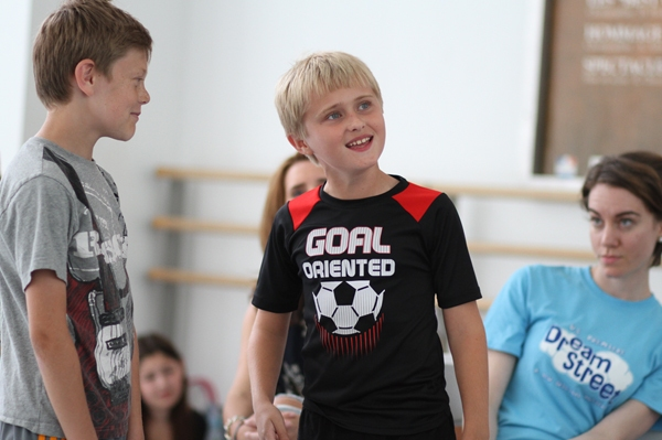 Photo Flash: First Look- DREAM STREET in Rehearsals