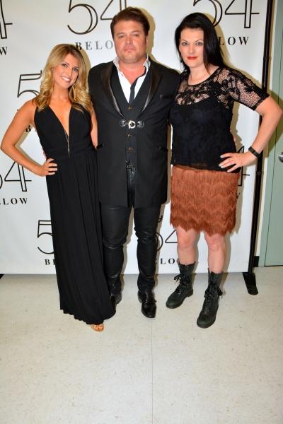 Janine DiVita, Rob Evan and Kate Shindle