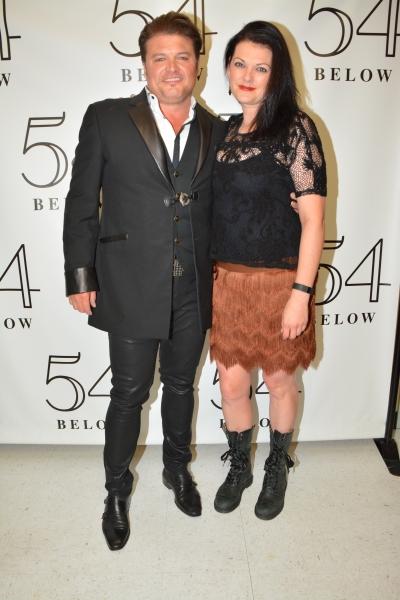Rob Evan and Kate Shindle