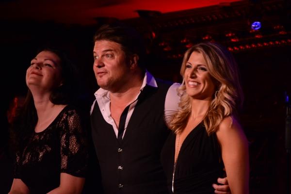 Kate Shindle, Rob Evan and Janine DiVita