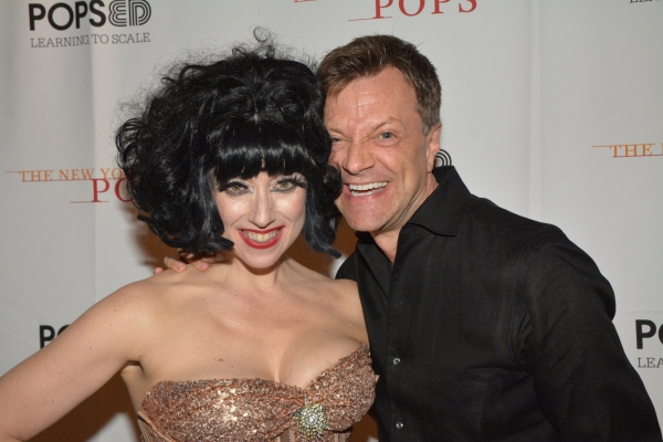Meow Meow and Jim Caruso Photo