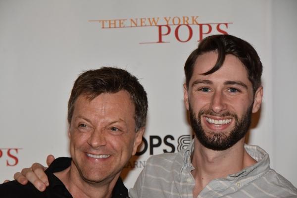 Jim Caruso and Daniel Rowan