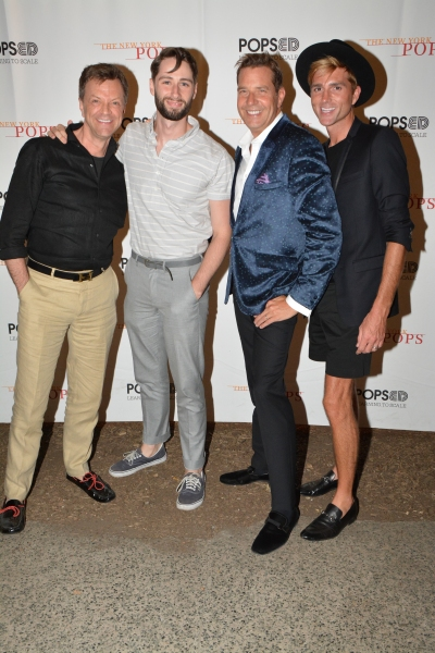 Jim Caruso, Daniel Rowan, Steven Reineke and Eric Gabbard