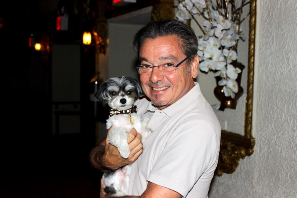 Tinkerbelle with director Bill Castellino
