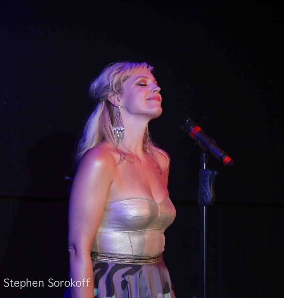 Photo Coverage: Elizabeth Stanley Brings I GET CARRIED AWAY to Mr. Finn's Cabaret at Barrington Stage Company