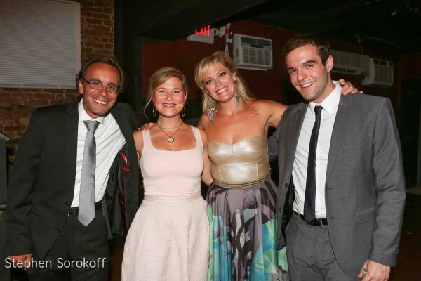 Tedd Firth, Carey Anderson, Elizabeth Stanley, Ben Schrager Photo