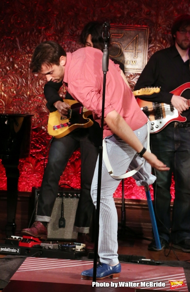 Photo Coverage: Evan Ruggiero Previews THE ONE-LEGGED SONG AND DANCE MAN at 54 Below