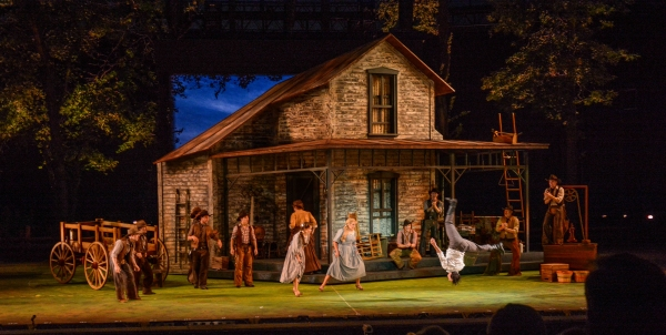 Photo Flash: First Look at OKLAHOMA! at The Muny with Ben Davis, Beth Leavel and More!