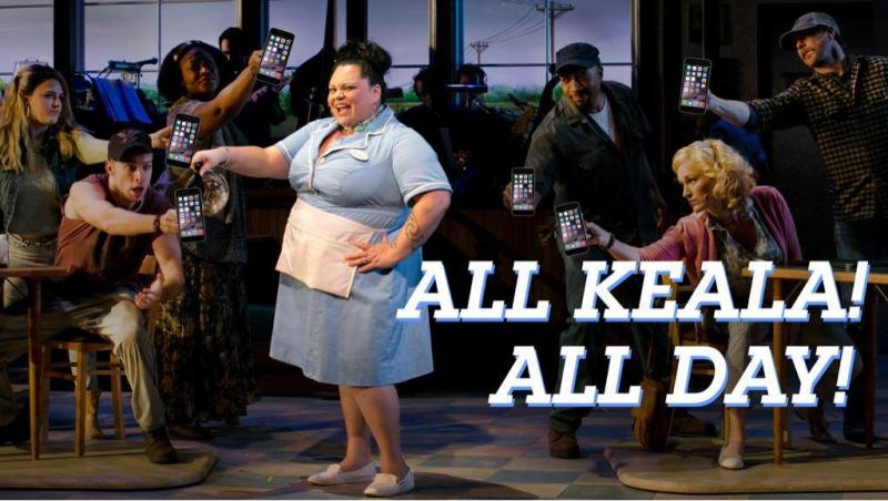 WAITRESS: THE MUSICAL's Keala Settle Takes Over Official American Repertory Theater Twitter Saturday, 8/15