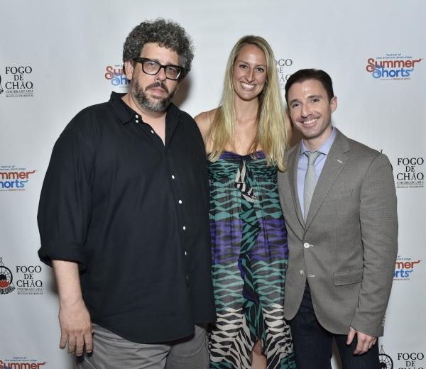 Neil LaBute, Krysta Hibbard and J.J. Kandel Photo