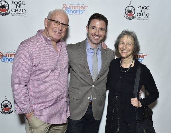 Peter Tear, JJ Kandel, and Elysabeth Kleinhans Photo