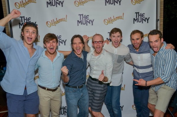 Photo Flash: First Look at the Opening Night Cast Party for The Muny's OKLAHOMA! (Part 1)