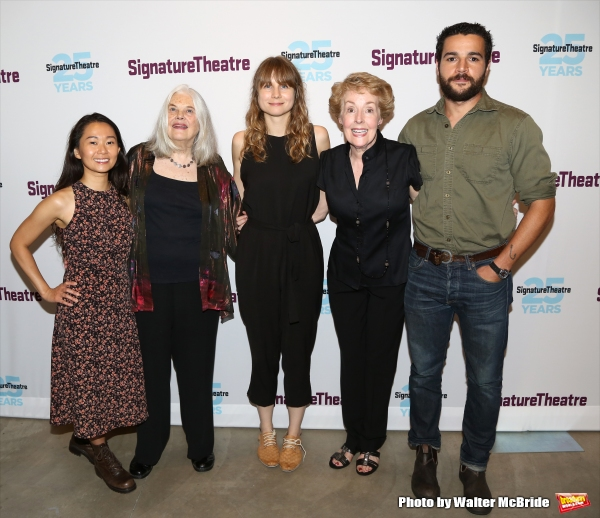 Hong Chau, Lois Smith, Annie Baker, Georgia Engel and Christopher Abbott Photo