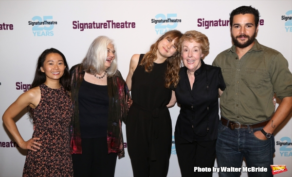 Hong Chau, Lois Smith, Annie Baker, Georgia Engel and Christopher Abbott