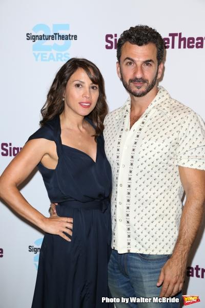 Elizabeth Rodriguez and Michael Aronov