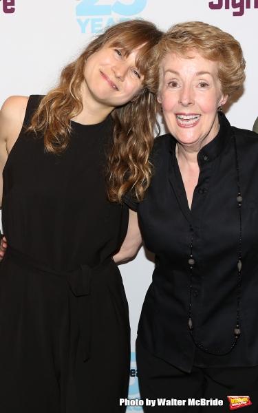Annie Baker and Georgia Engel
