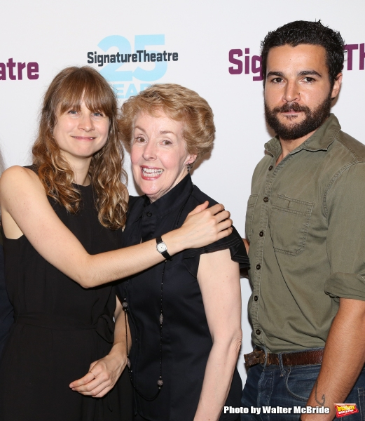 Annie Baker, Georgia Engel and Christopher Abbott