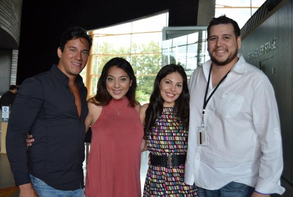 Nicholas Rodriguez, Esperanza America, Elia Saldana and Fidel Gomez