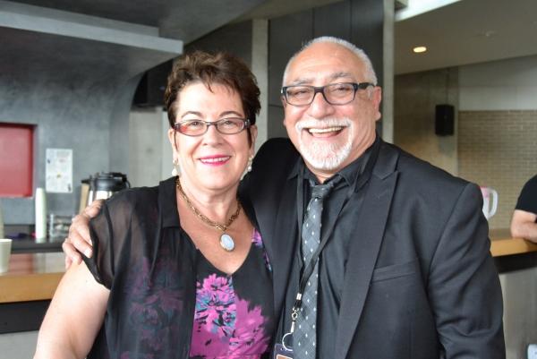 Artistic Director Molly Smith and director Jose Luis Valenzuela