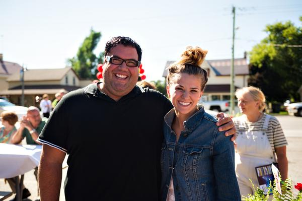 Nick Settimi and Danielle Wade