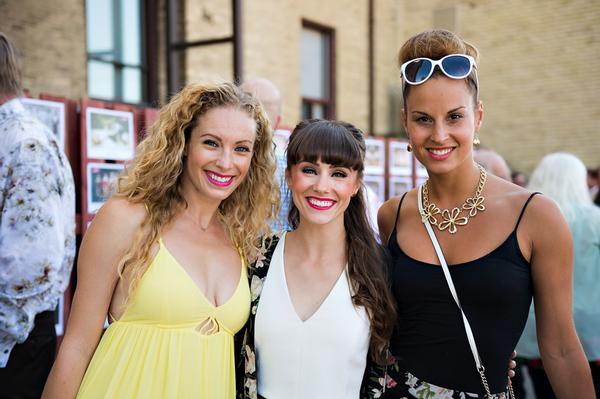 Jennifer Mote, Danielle Benton, Sarah Matton
