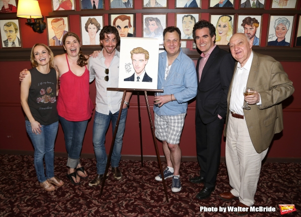 Kate Reinders, Heidi Blickenstaff, Christian Borle, Brooks Ashmanskas, Brian d''Arcy James and Gerry Vichi