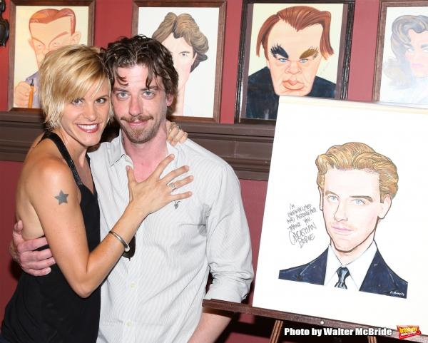 Jenn Colella and Christian Borle