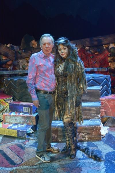 Andrew Lloyd Webber and Jane McDonald