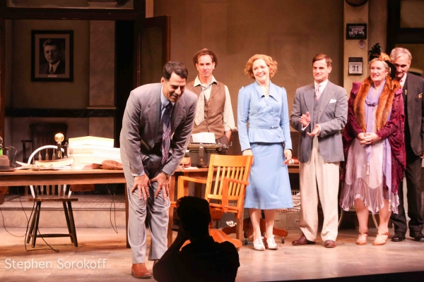 Photo Coverage: Inside Opening Night of HIS GIRL FRIDAY at Barrington Stage Company