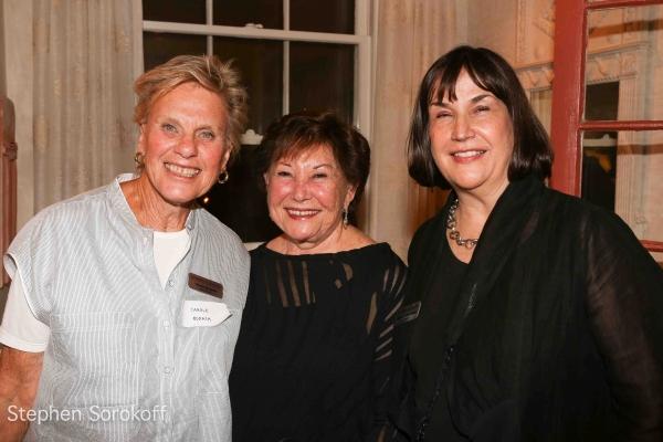 Carole Burack, Sydelle Blatt, Marita O'Dea Glodt, Pres. Board of Directors