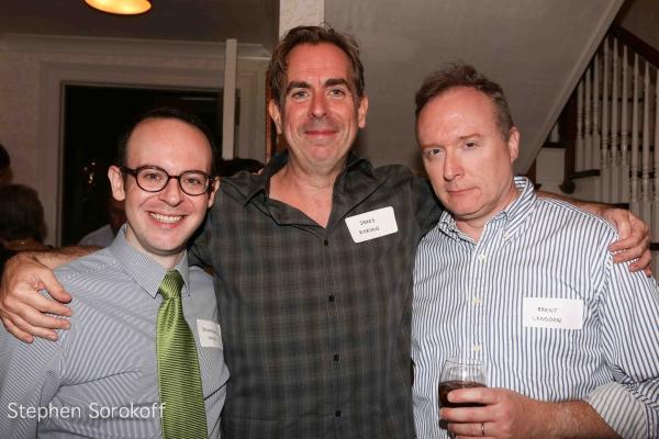 Jonathan Spivey, James Riordan, Brent Langdon Photo