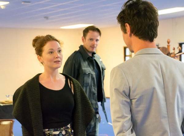 Photo Flash: New Rehearsal Images for the 2015 National Tour of FLARE PATH
