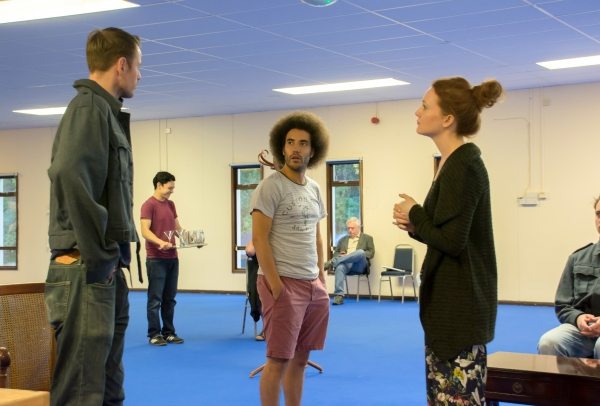 Simon Darwen, Justin Audibert and Olivia Hallinan