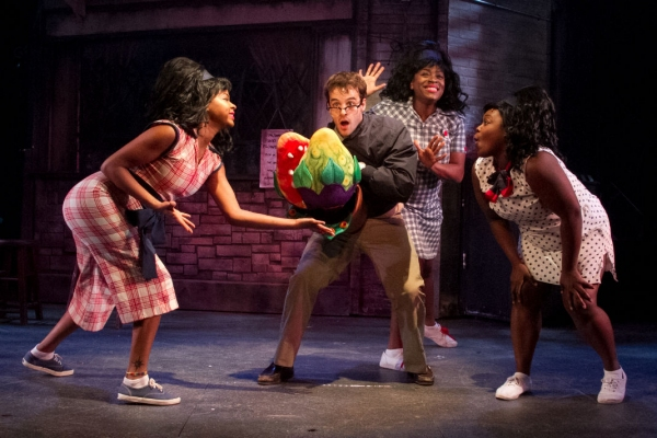 Ashley McManus, Ryan Vona as Seymour, Carla R. Stewart and Tatiana Lofton