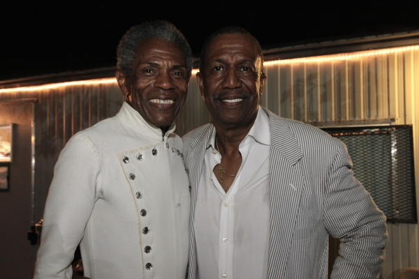 Andre De Shields and George Faison