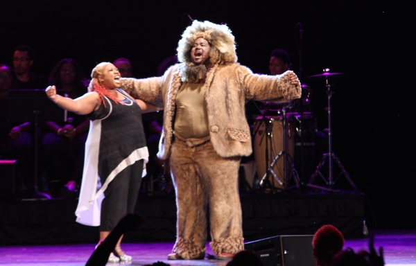 Photo Flash: Phylicia Rashad, Andre De Shields & More Original Cast Members from THE WIZ Reunite in Central Park!