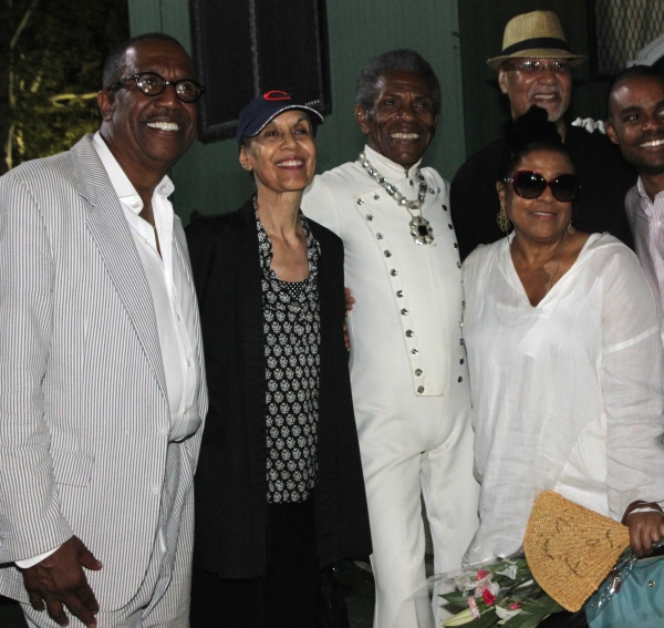 George Faison, Carmen de Lavallade, Andre De Shields, Kathleen Battle and Warrington  Photo