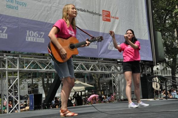 Katie Boeck and Sandra Mae Frank