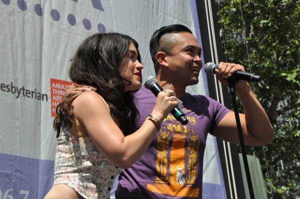 Sarah Stiles and Jose Llana