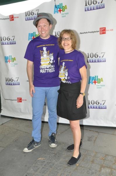 Stanley Bahorek and Jackie Hoffman Photo